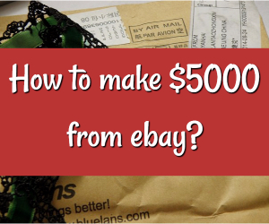 make money from ebay